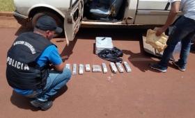 Garupá: cayó un presunto distribuidor de droga en ruta 105