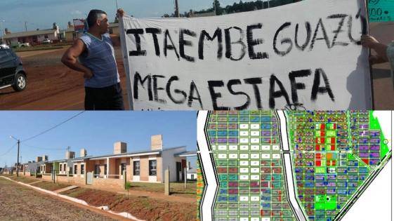 Itaembé Guazú, el complejo de viviendas más irregular del país
