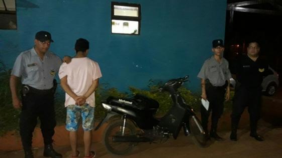 Posadas: detuvieron a un menor de 17 años, acusado de varios delitos