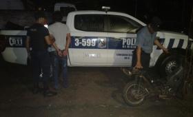 Oberá: un motociclista fue detenido tras agredir a policías