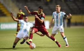 Argentina venció a Venezuela pero depende de Colombia para clasificar al Mundial Sub 20