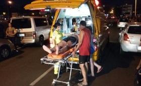 Encarnación: cedió el tobogán inflable y dejó heridos