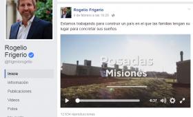 Pese a la polémica, Frigerio grabó Spots publicitarios en Itaembé Guazú