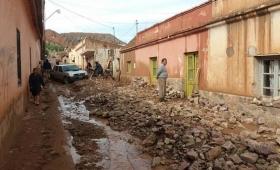 Alud en Tilcara: hay 60 evacuados y demolerán 50 casas