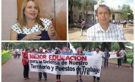 "Ortiz acusó a la ministra Aquino de ""perrito faldero del sindicalismo corrupto"""