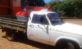 Secuestraron camioneta robada en Brasil