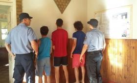 Desbarataron banda de ladrones en Azara