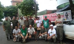 Guardaparques esperan ser convocados por el Ministerio de Trabajo