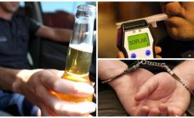 Hasta 30 días de cárcel para conductores alcoholizados