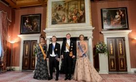 Cena de Estado ofrecida por los reyes Guillermo y Máxima