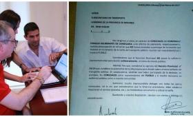 Concejales de Candelaria se quejaron ante la Subsecretaría de Transporte