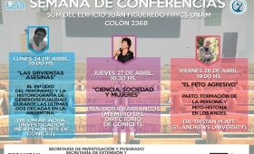 Semana de conferencias en la Facultad de Humanidades