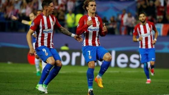 Con un penal dudoso, Atlético de Madrid se impuso por la mínima al Leicester