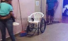Lamentable: el hospital de San Vicente abandonado