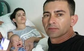 Dio a luz en coma y cinco meses después despertó