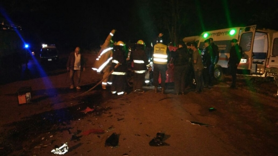 Eldorado: automovilista falleció tras chocar con un colectivo