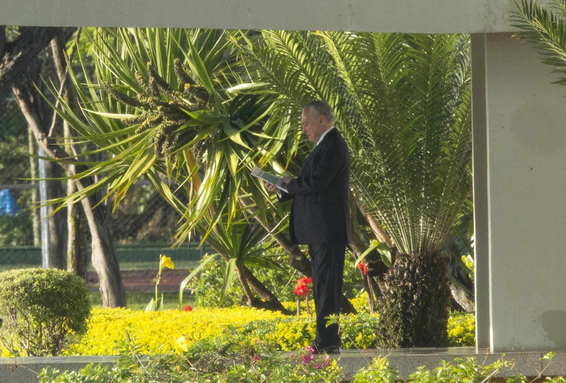 Temer dice que no renunciará a la presidencia de Brasil