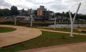 Intento de suicidio en un lago artificial