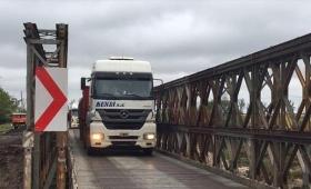 Habilitaron puente Bailey sobre el arroyo Iribú Cuá
