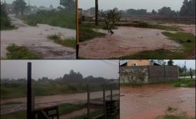 La historia de cada lluvia en Barrio Jardín