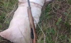 Detuvieron a cazadores que acampaban en el lago Urugua-í