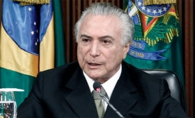 La Policía de Brasil acusó al presidente Temer por corrupción