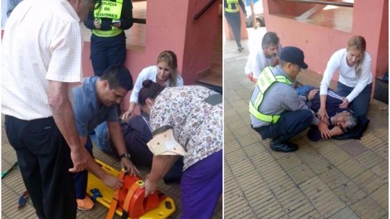 Tuvo tres ataques de epilepsia y la ambulancia tardó casi una hora en llegar