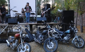 Motoqueros a puro rock en Apóstoles