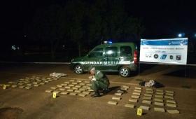 Incautaron más de 80 kilos de marihuana en General Urquiza