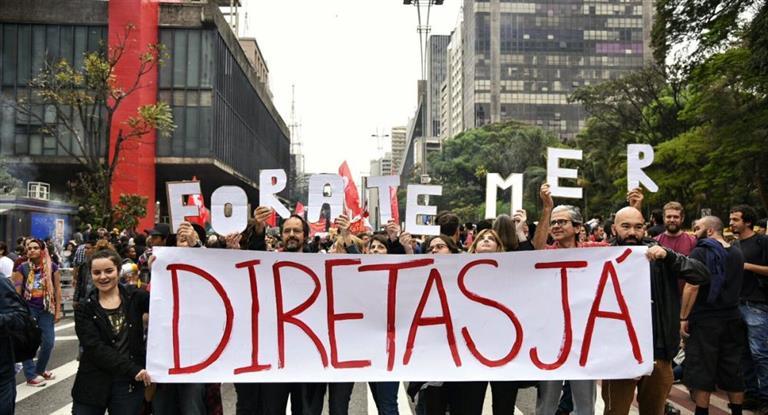 Contra las cuerdas: piden el juicio político contra Michel Temer en Brasil