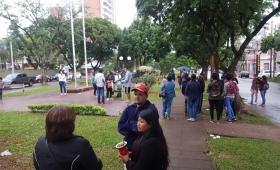 La CCC protestó por falta de pago