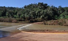 Alarma por creciente del río Uruguay
