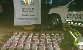Incautaron más de 65 kilos de cocaína en Corrientes