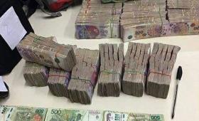 Secuestran millones de pesos de apuestas