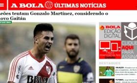 "Sporting de Lisboa tiene en la mira a ""Pity"" Martínez"