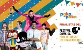 Contenidos de Pakapaka, finalistas de un festival