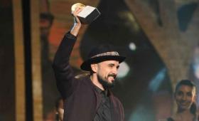 Abel Pintos ganó por tercera vez un Gardel de Oro