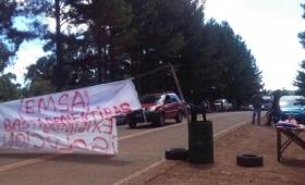 Irigoyen: Sigue el corte de ruta ante la falta de respuestas de EMSA