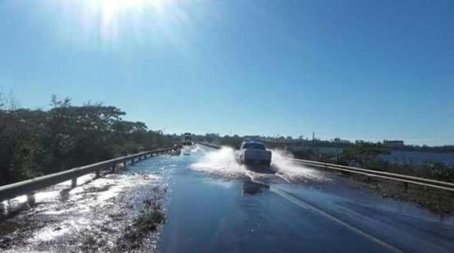 Cortaron la ruta 14 a la altura de Corrientes