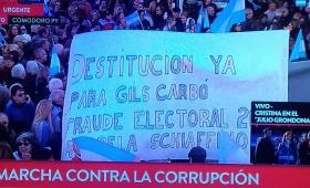 Comodoro Py: marcha para reclamar por justicia independiente y contra los corruptos