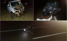 Falleció un motociclista en triple choque sobre Ruta 12