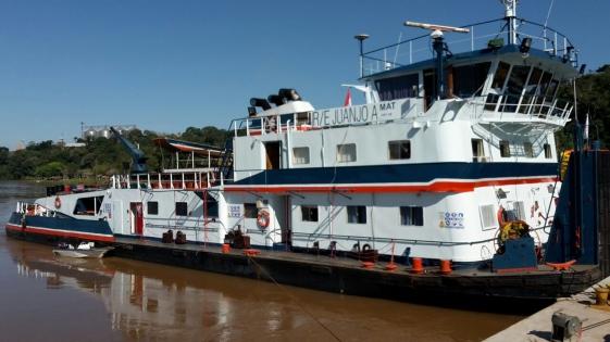 Incautaron barcazas con 10 mil kilos de marihuana