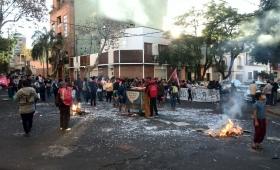 Tareferos: protesta y acampe en Posadas