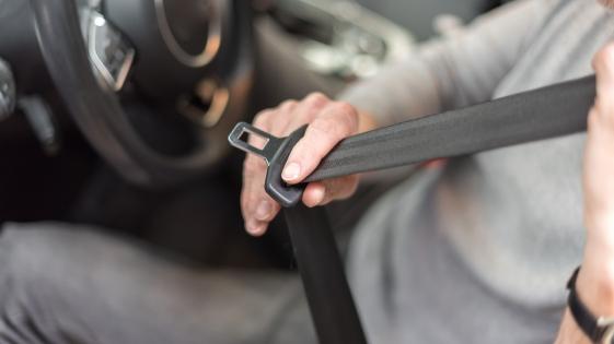 Seguridad Vial: sólo el 50 % de los automovilistas usa cinturón de seguridad
