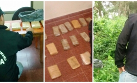 Tiroteo, fuga y captura de narcos en Posadas