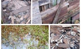 Bº Las Tacuaritas: un bañado sin cloacas, agua, ni luz
