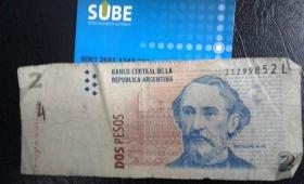 Corrientes: cobran plus de $2 para la recarga de la SUBE