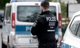 La policía alemana desalojó un campamento de protesta contra el G20 en Hamburgo