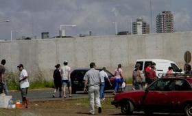La caída del muro de la Costanera