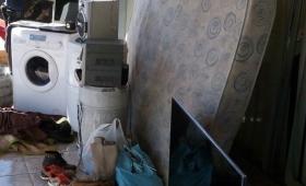 """Irigoyen: descubren la """"guarida"""" de reconocido ladrón"""